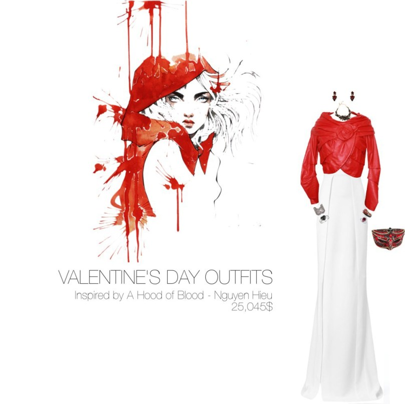 25,045$ Valentine's Day #MostExpensiveOutfit Inspired by A Hood of Blood, 2014 – Nguyen Hieu