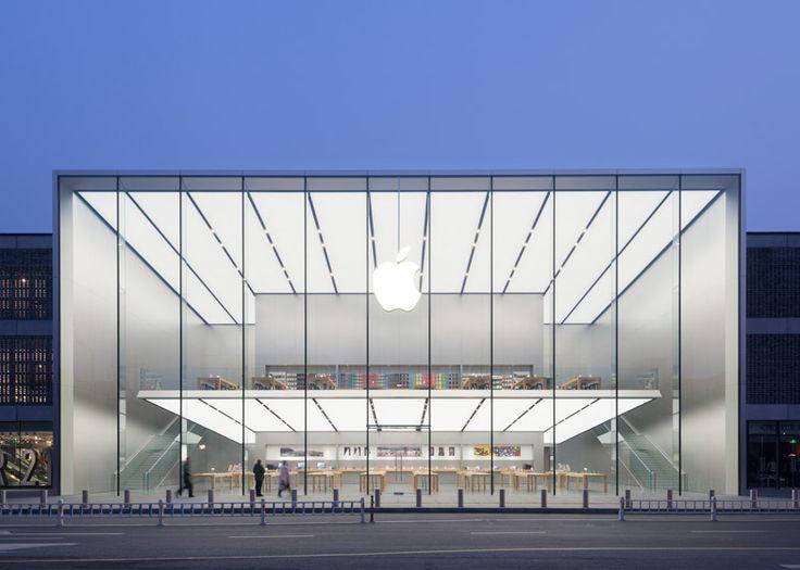Apple Store - Hangzhou, China, 2015 Norman Foster @FosterPartners via @Dezeen magazine for #form