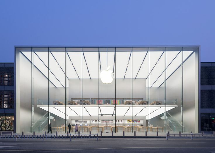 Apple Store - Hangzhou, China, 2015 Norman Foster @FosterPartners via @Dezeen magazine for #form