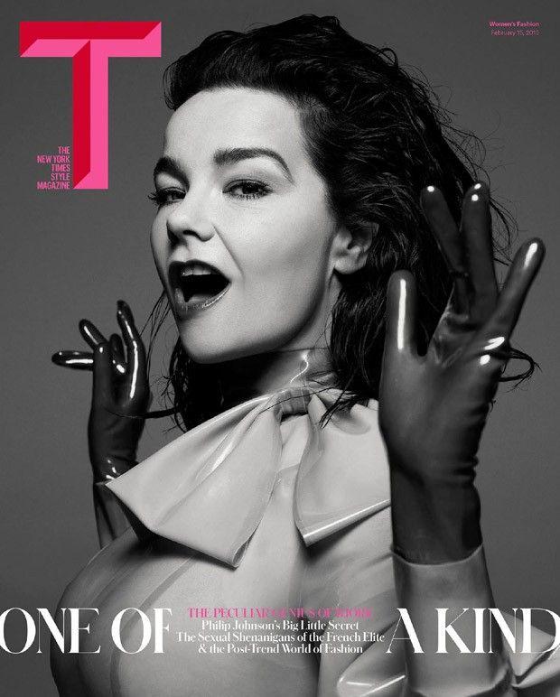 Bjork @Bjork by Inez van Lamsweerde, Vinoodh Matadi @inezandvinoodh for T The NY Times Style @T- The New York Times Style Magazine Spring 2015