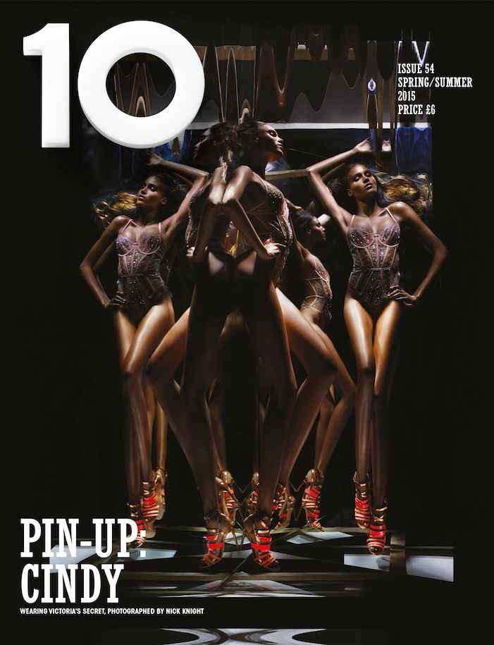 Cindy Bruna @OfficialCindyB by Nick Knight @SHOWstudio for 10 @10magazine_ Sensuality Issue 2015