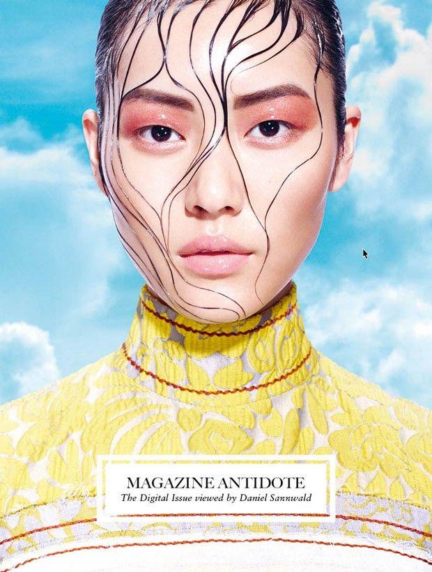 Liu Wen @LiuWenLW by Daniel Sannwald www.danielsannwal... for Antidote @Magazine Antidote Spring 2015
