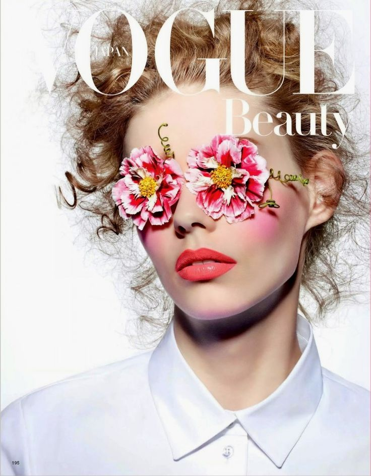 Ondria Hardin @IamOndriaHardin by Richard Burbridge @ArtandCommerce for Vogue Beauty Japan @voguejp