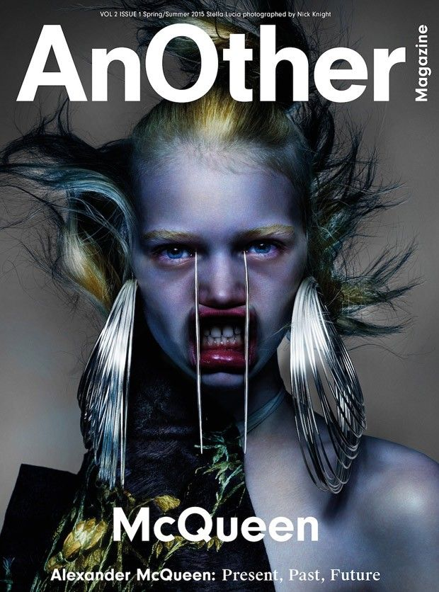 Stella Lucia @dnamodels by Nick Knight @SHOWstudio for AnOther @AnOtherMagazine Spring 2015