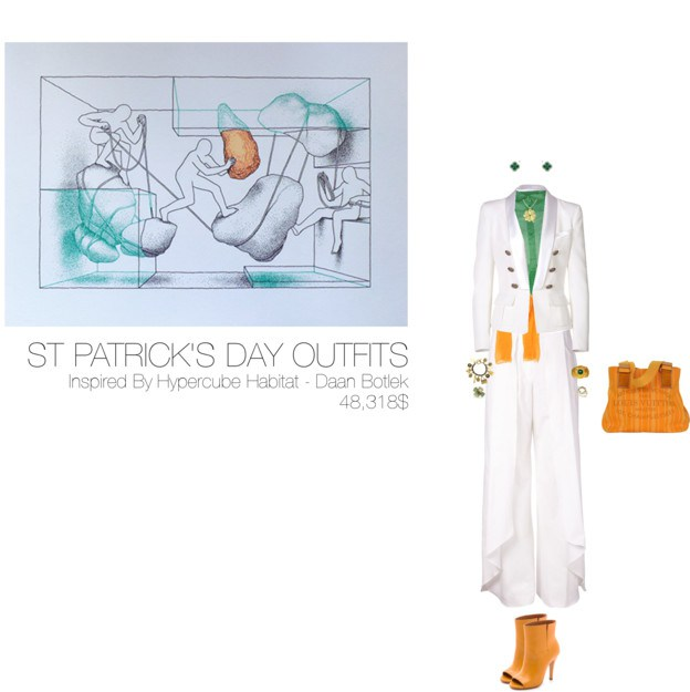 48,318$ St-Patrick's Day #MostExpensiveOutfit Inspired by Hypercube Habitat – Daan Botlek