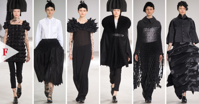 #FashionWeek-3-Uppermosts-Womenwears-Fall-2015-Paris-@FFCouture-#pfw-ft.-Junya-Watanabe