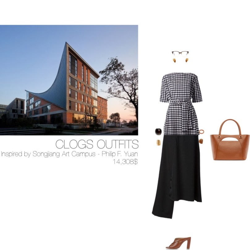 14308$ Clogs #MostExpensiveOutfit Inspired by Songjiang Art Campus – China, 2015 – Philip F. Yuan www.archi-union