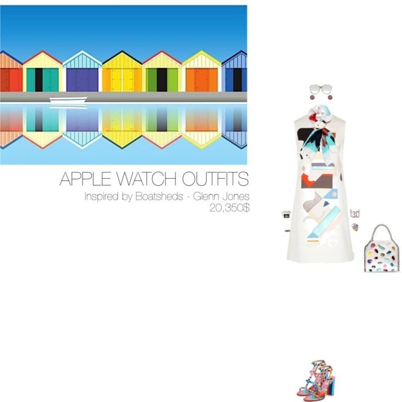 20,350$ @AppStore Apple Watch #MostExpensiveOutfit Inspired by Boatsheds, 2015 – Glenn Jones @glennjonesart