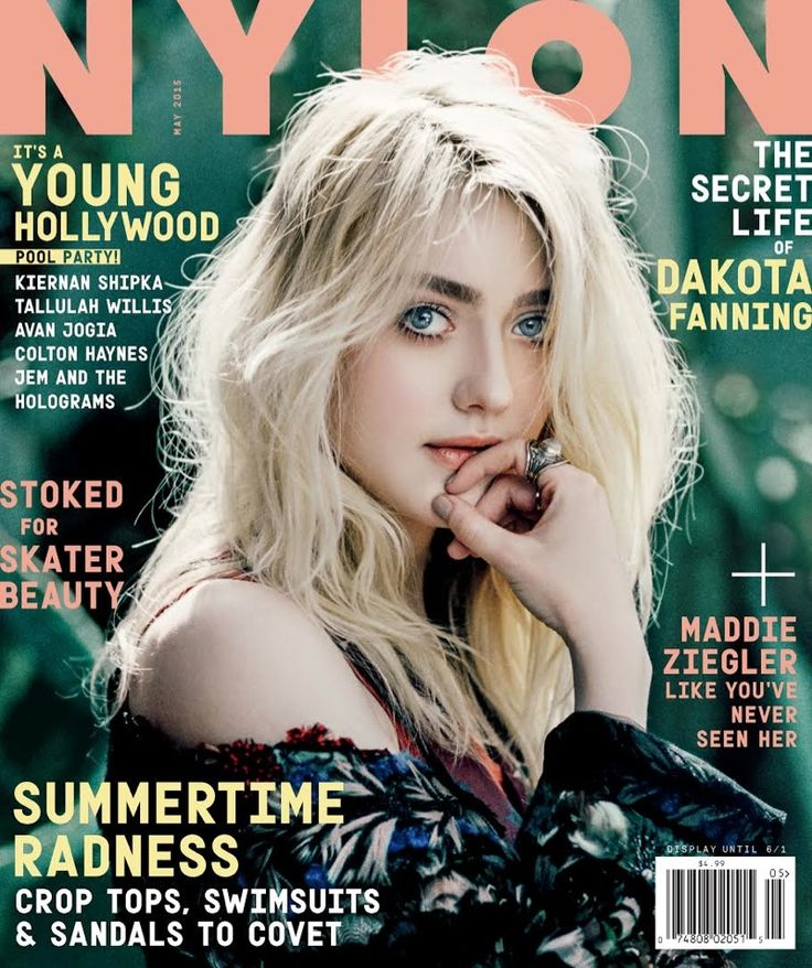 Dakota Fanning @itsDakotaFannin by Harper Smith @Harpersphotos for Nylon @NylonMag May 2015