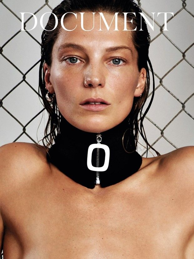 Daria Werbowy @IMGmodels by Collier Schorr www.collierschorr... for Document Journal @documentjournal Spring 2015