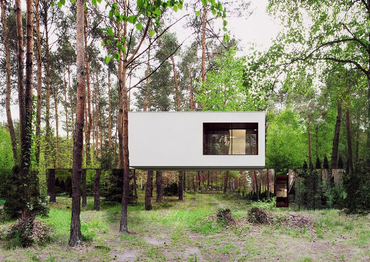 Izabelinie House 2, 2015 Marcin Tomaszewski www.reformarchite... via @designboom for #material