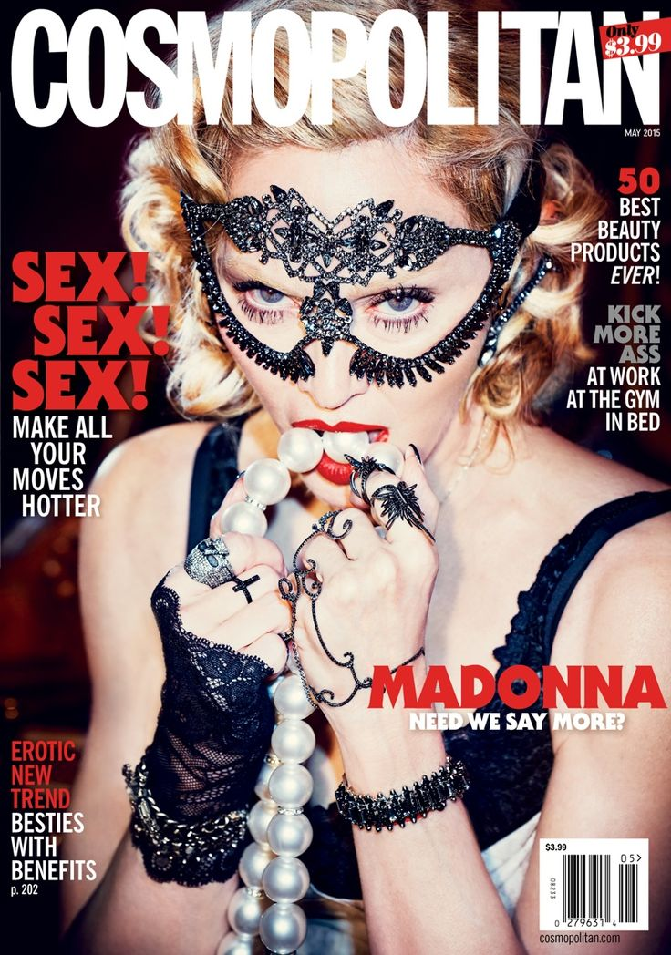 @Madonna by Ellen Von Unwerth @EllenVUnwerth for @Cosmopolitan May 2015