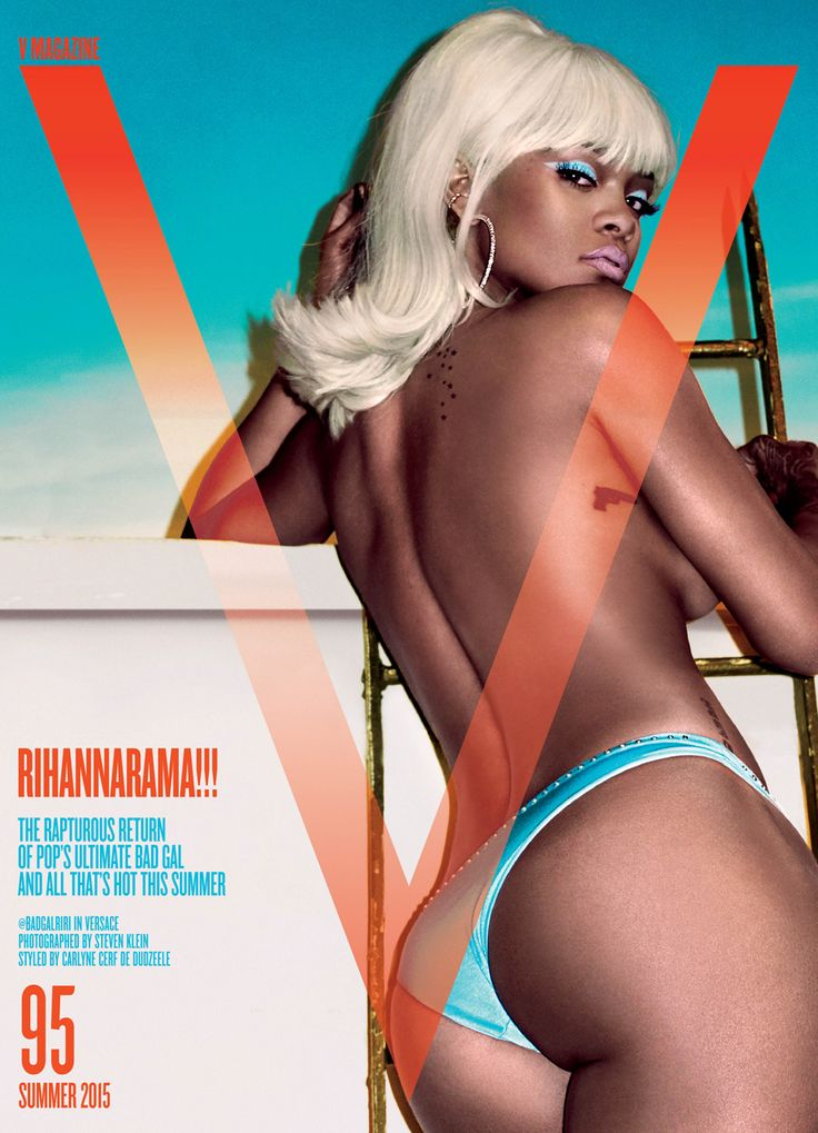 Rihanna @Rihanna by Steven Klein @SKstudly for V @VMagazine #95 Summer 2015
