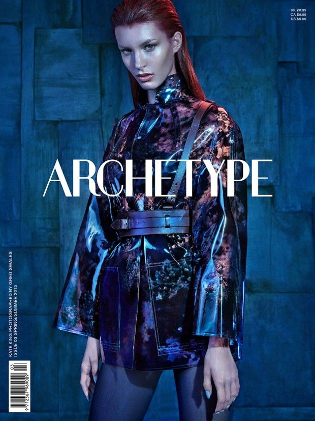Kate King @IMGmodels by Greg Swales @GregSwales for Archetype @archetypemag Spring 2015