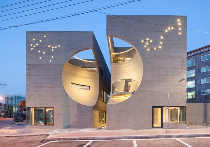 Erotically Charged Cultural Center, Korean, 2015 by Jang Dukhyun, Park Jungwook www.moonhoon.com #form