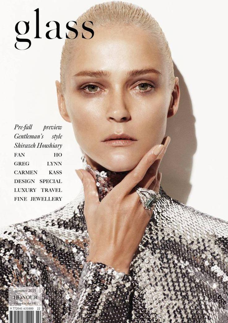 Carmen Kass @Kass Carmen by Bojana Tatarska @bojana tatarska for Glass @Glass Magazine Summer 2015