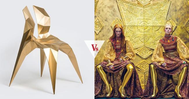 design  vsfashion   golden gimini ft  zhoujie zhang and
