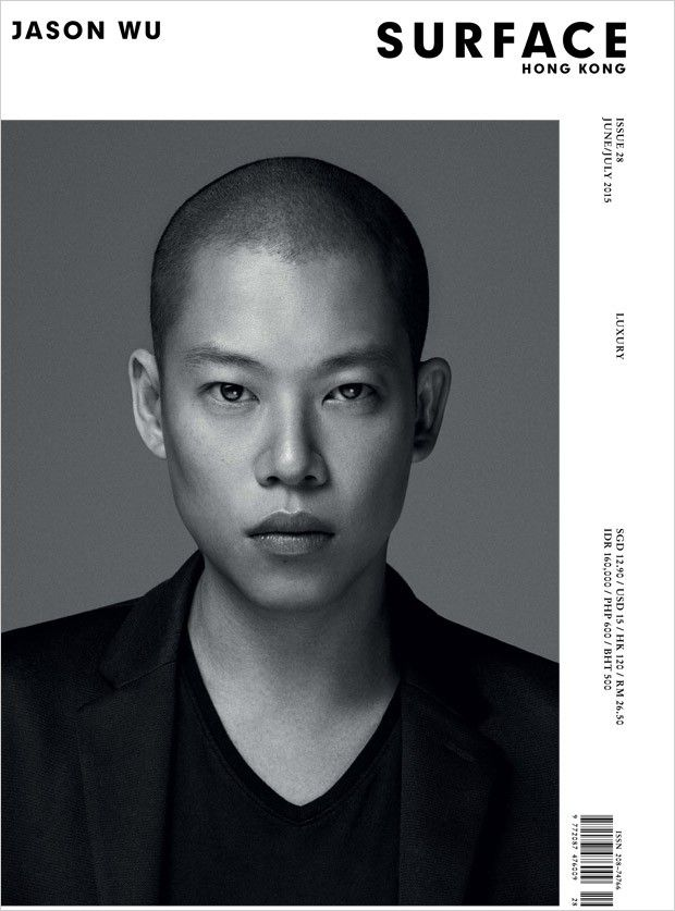 Jason Wu @JasonWu by Hunter & Gatti @Hunter & Gatti for Surface Asia @SurfaceAsiaMag July 2015