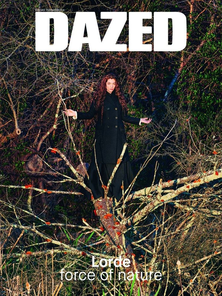 Lorde @Lord by Ryan McGinley www.ryanmcginley.com for Dazed @DazedMagazine Summer 2015