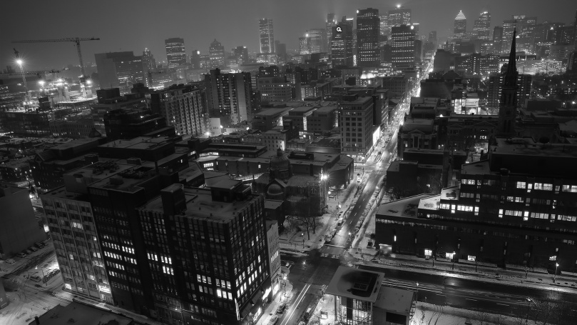 montreal-bw