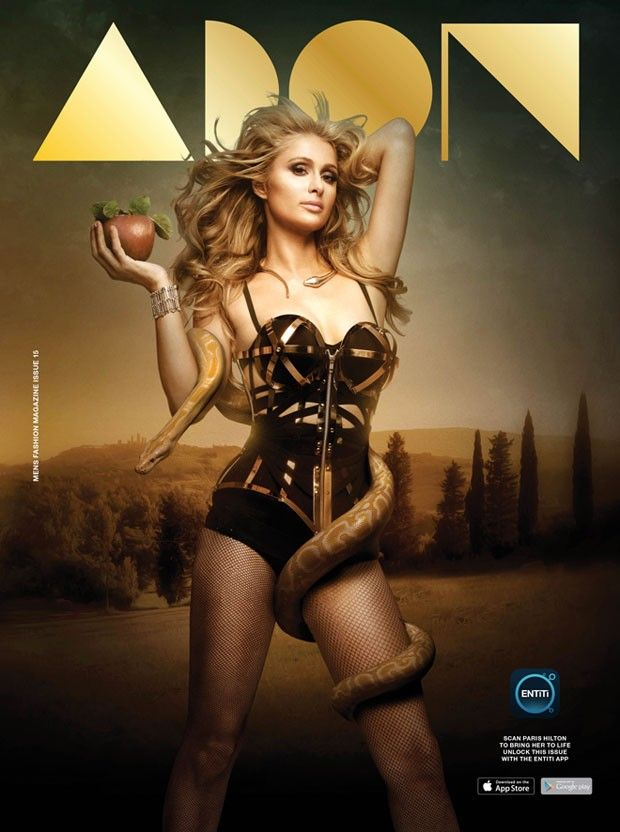 Paris Hilton @Paris Hilton by Mike Ruiz @Mike Ruiz for ADON @adonmagazine 2015