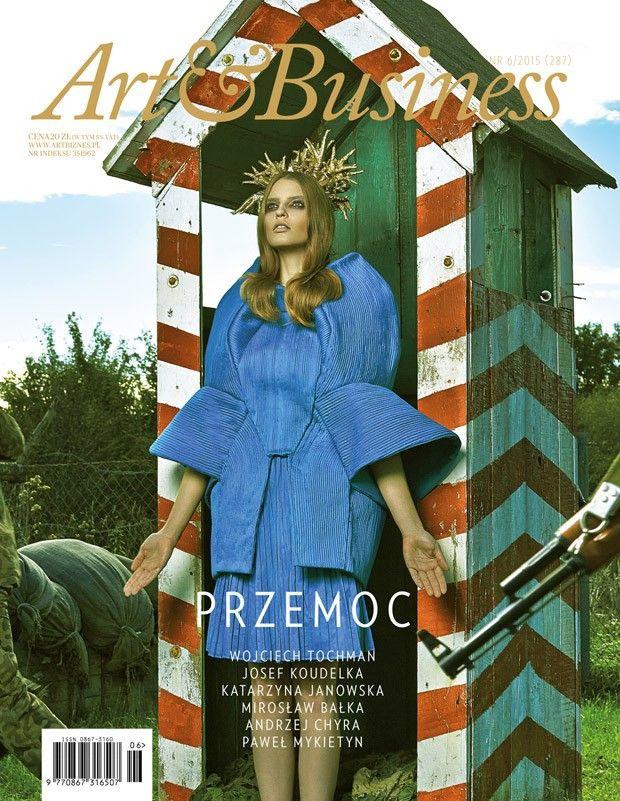 Karolina Warzecha @UnoModelsAgency by Daniel Korzewa www.korzewa.com for Art&Business www.artbiznes.pl 2015