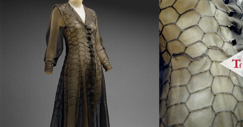 #ThrowbackFashion Cocktail dress, 1936 by Madeleine Vionnet @Vionnet_1912-01