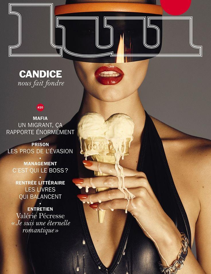 Candice Swanepoel @AngelCandice by Luigi and Iango @StreetersLDN for Lui @Lui September 2015