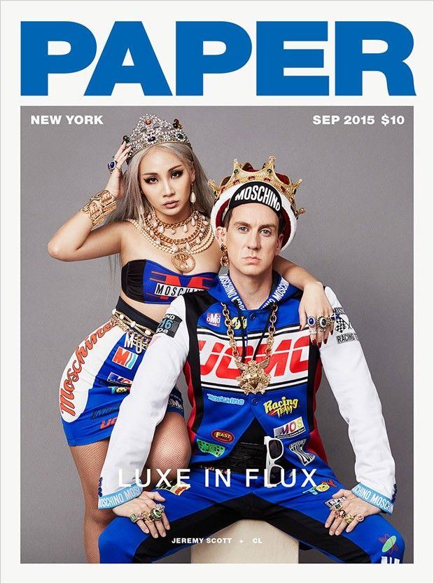 CL @chaelinCL, Jeremy Scott @ITSJEREMYSCOTT by Nicolas Moore www.nicolasmoore.com for Paper @PaperMagazine September 2015