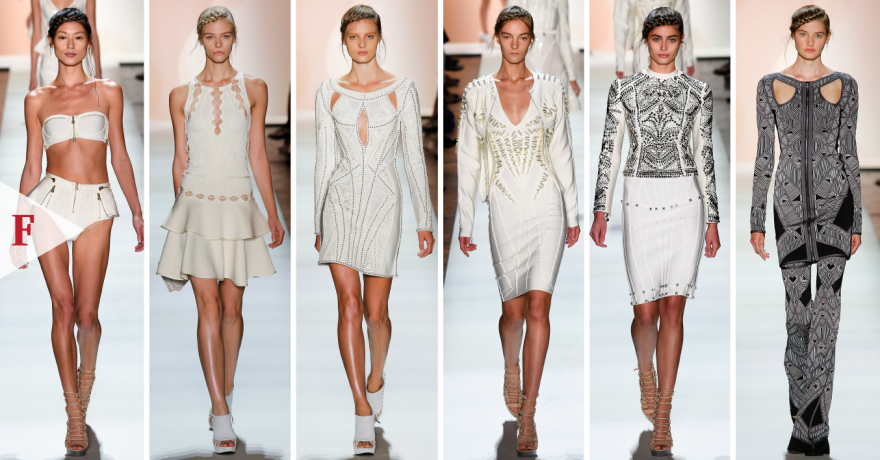 #FashionWeek-SPRING 2016 READY-TO-WEAR Hervé Léger by Max Azria-01