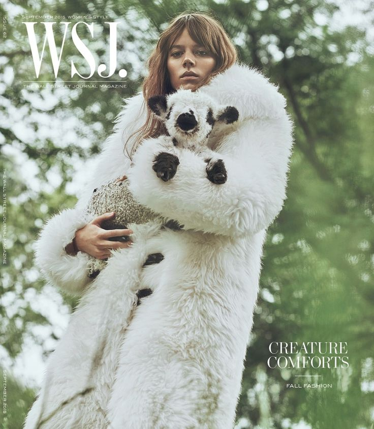 Freja Beha Erichsen @OfficialFreja by Lachlan Bailey www.lachlanbailey.com for WSJ. @WSJMag September 2015