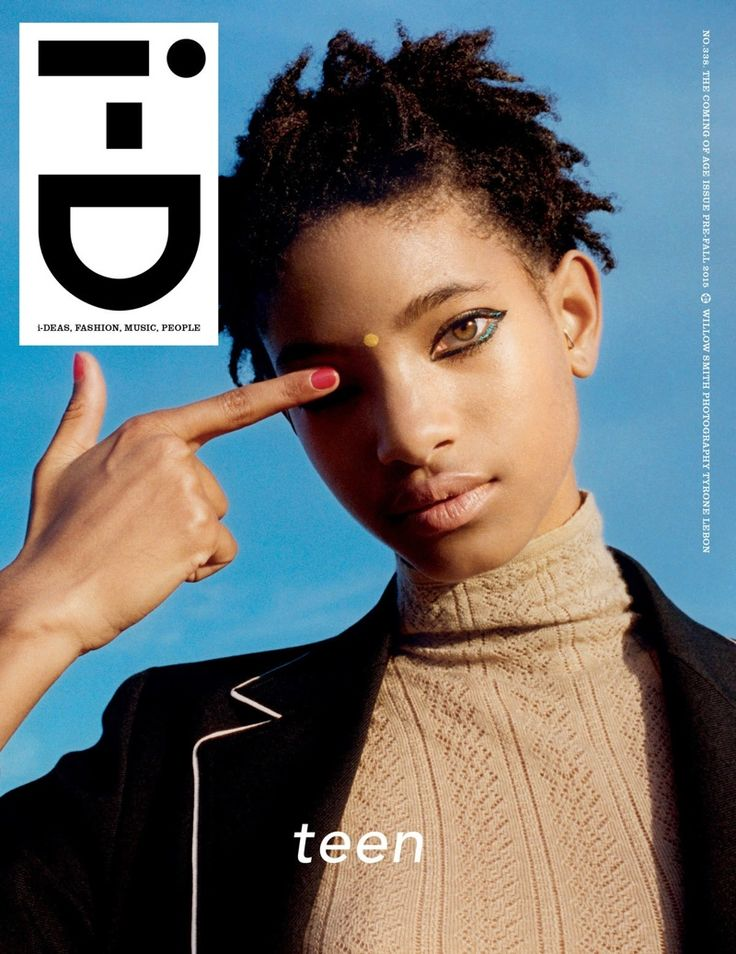 Willow Smith @OfficialWillow by Tyrone Lebon www.tyronelebon.com for i-D @i_D Pre-Fall 2015