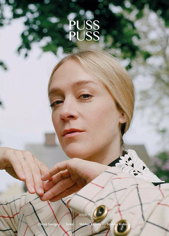 Chloe Sevigny @OfficialChloeS by Amber Byrne Mahoney @Amber Byrne Mahoney for Puss Puss @PUSS PUSS MAGAZINE No.4 #motion #color