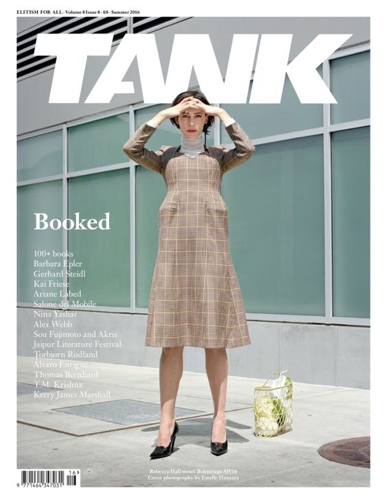 Rebecca Hall by Estelle Hanania www.estellehanani... for Tank @TANK Magazine Summer 2016 #composition #motion