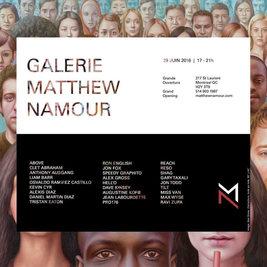 Une nouvelle institution pour l'art urbain - Galerie Matthew Namour