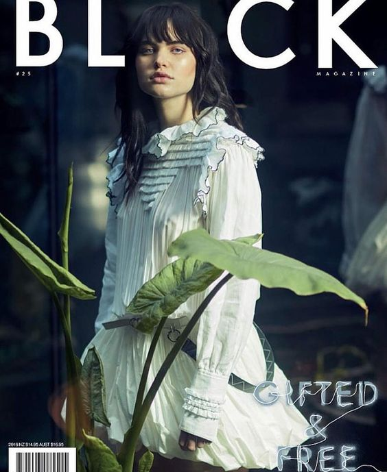 Misha Hart @dnamodels by Stephen Langmanis @Langmanis for Black @Black Magazine No.25 #color