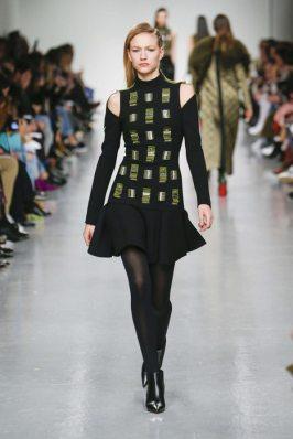 David Koma Fall-Winter 2017 London Womenswear Catwalks-005