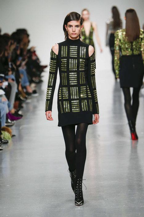 David Koma Fall-Winter 2017 London Womenswear Catwalks