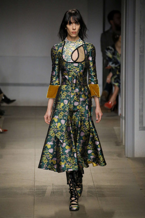 Erdem Fall-Winter 2017 London Womenswear Catwalks